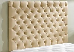 berkshire double cream headboard