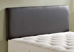 vault faux leather headboard