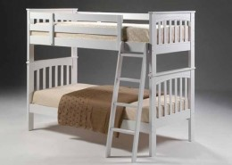 aspen bunk bed white