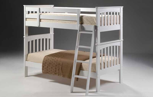 Shaker Bunk Bed White Bed Factory Contracts