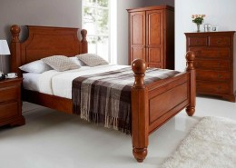 Heirloom bed frame