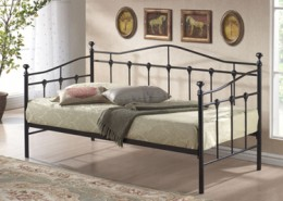torino guest bed black